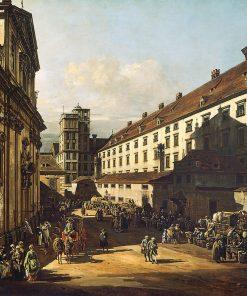 The Dominikanerkirche in Vienna | Bernardo Bellotto | Oil Painting
