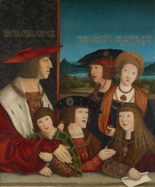 The Family of Kaiser Mazimilian I | Bernhard Strigel | Oil Painting