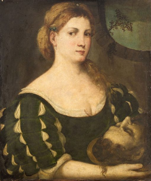 Salome with the Head of John the Baptist | Bonifazio Veronese | Oil Painting