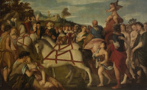 Triumph of Love | Bonifazio Veronese | Oil Painting