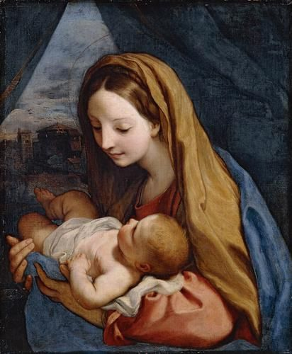 Madonna and Child | Carlo Maratta | Oil Painting