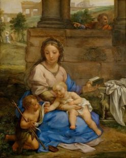 Mary with the Infant and Joseph | Carlo Maratta | Oil Painting