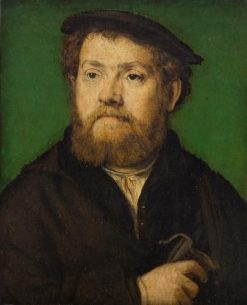 Portrait of a Man with a Purse | Claude Corneille de Lyon | Oil Painting