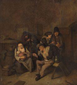 Peasants in a Room | Cornelis Pietersz Bega | Oil Painting