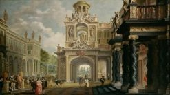 Grand Garten Palace | Dirck van Delen | Oil Painting