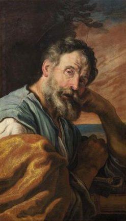 Saint Peter   Domenico Fetti   Oil Painting