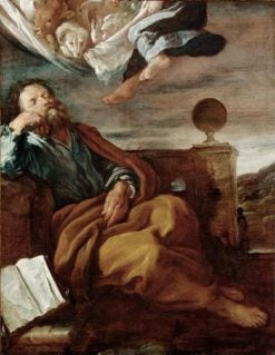The Vision of Saint Peter and the Angel | Domenico Fetti | Oil Painting
