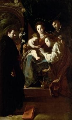 The Virgin and Infant with Saints Catherine