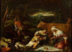 The Feast | Francesco Bassano the Younger | Oil Painting