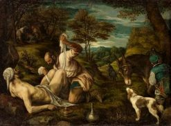 The Good Samaritan | Francesco Bassano the Younger | Oil Painting