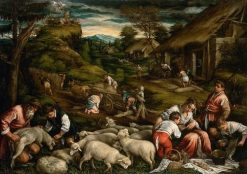Summer | Francesco Bassano the Younger | Oil Painting