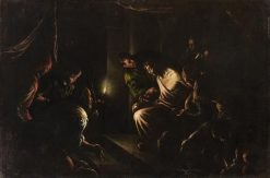 Interrogation of Christ | Francesco Bassano the Younger | Oil Painting