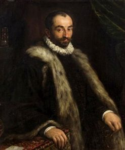 Portrait of an Astrologer   Francesco Bassano the Younger   Oil Painting