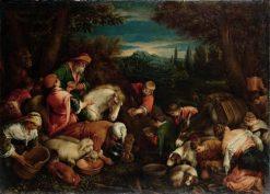 Wunder aus der Quelle von Mara | Francesco Bassano the Younger | Oil Painting
