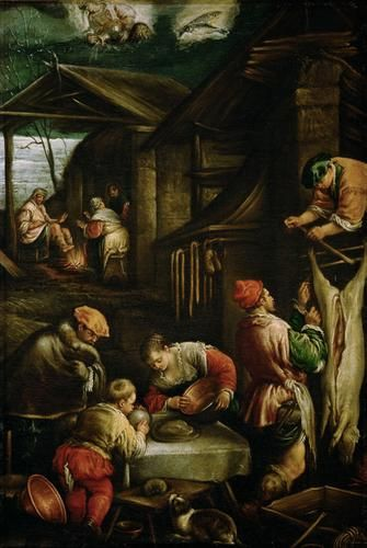 Winter | Francesco Bassano the Younger | Oil Painting