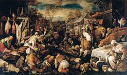 Marketplace | Francesco Bassano the Younger | Oil Painting