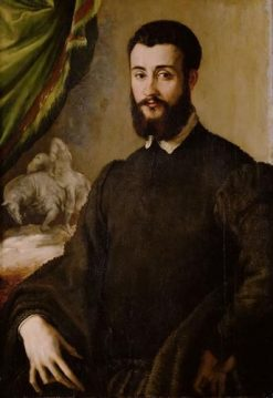 Member of the Santa Croce Family | Francesco Salviati | Oil Painting