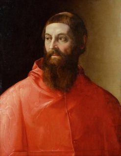 Cardinal Rodolfo Pio | Francesco Salviati | Oil Painting