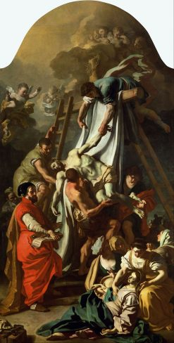 The Deposition | Francesco Solimena | Oil Painting