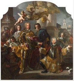 Emperor Charles VI and Gundacker