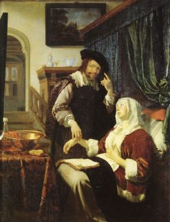 The Doctor's Visit | Frans van Mieris the Elder | Oil Painting