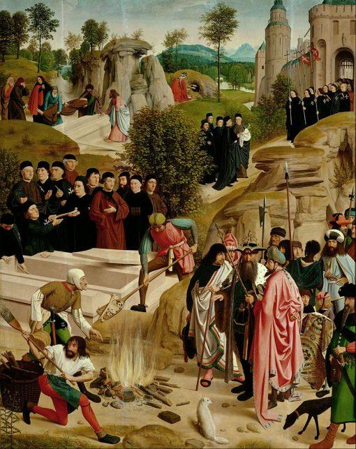 The Legend of the Relics of Saint John the Baptist | Geerten tot Sint Jans | Oil Painting