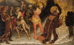 The Stoning of Saint Stephen | Gentile da Fabriano | Oil Painting