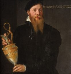 Possibly Portrait of the Goldsmith Martin Marquart | German School th Century   Unknown | Oil Painting