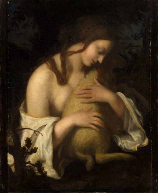 Allegory of Meekness | Giovanni Biliverti | Oil Painting