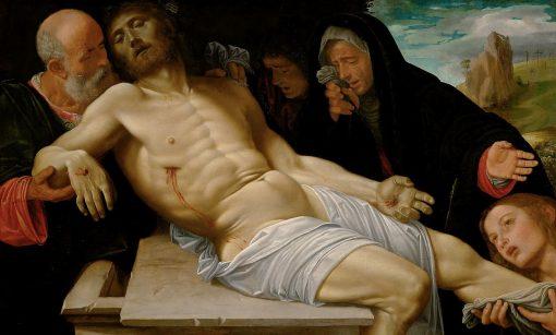 Lamentation of Christ | Giovanni Girolamo Savoldo | Oil Painting