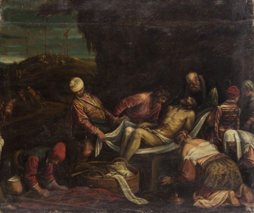 Burial of Christ | Girolamo Bassano | Oil Painting