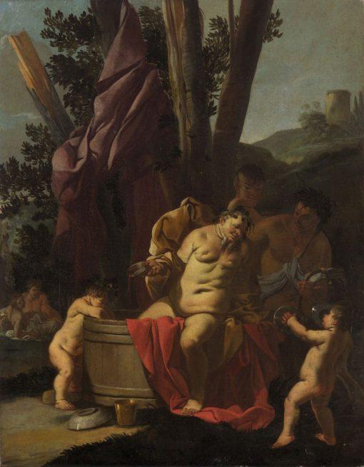 Drunken Silenus | Giulio Carpioni | Oil Painting