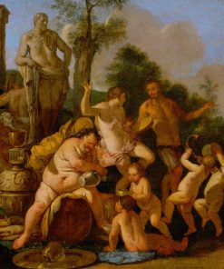 Bacchanal   Giulio Carpioni   Oil Painting