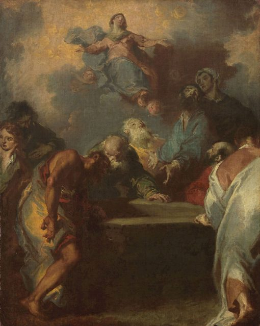 Ascension of the Virgin Mary | Giuseppe Bazzani | Oil Painting