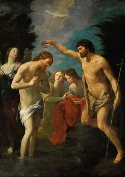 The Baptism of Christ | Guido Reni | Oil Painting