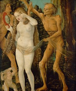 The Three Ages and Death | Hans Baldung | Oil Painting
