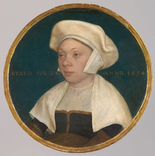 The Wife of a Court Attendant to King Henry VIII | Hans Holbein the Younger | Oil Painting