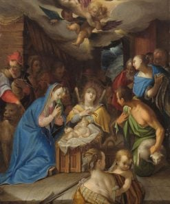 Adoration of the Magi | Hans von Aachen | Oil Painting