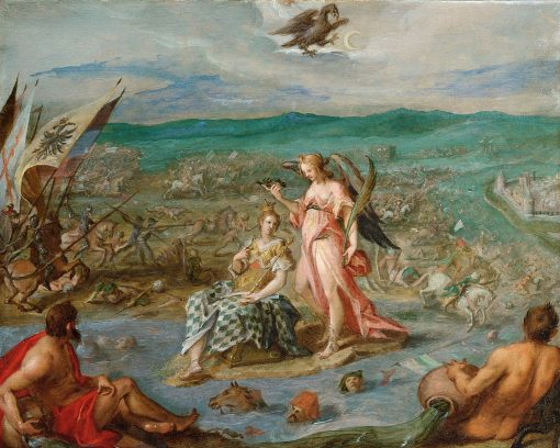 Allegory of the Battle of Sisek | Hans von Aachen | Oil Painting