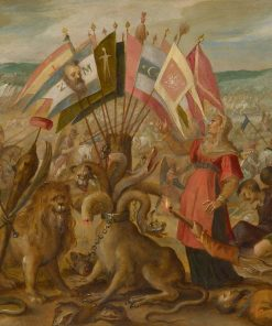 Allegory of the Battle at Brasov | Hans von Aachen | Oil Painting