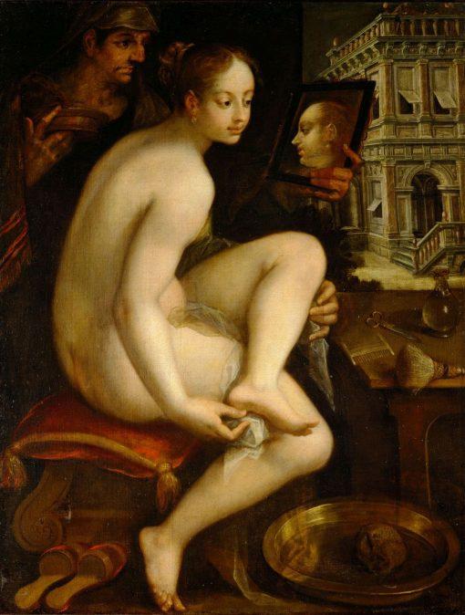 David and Bathsheba | Hans von Aachen | Oil Painting