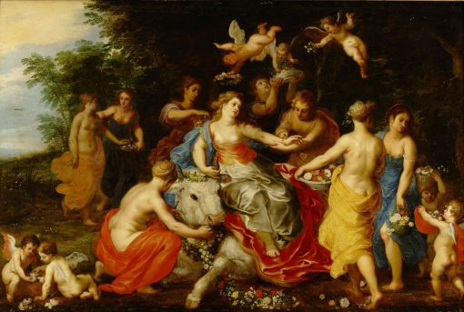 Europa and the Bull | Hendrick van Balen | Oil Painting