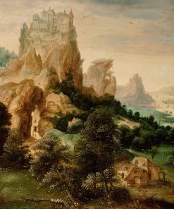 Landscape with the Parable of the Good Samaritan | Herri met de Bles | Oil Painting