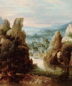 Landscape with the Passage to Emmaus | Herri met de Bles | Oil Painting