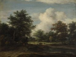 Wooded Landscape | Jacob van Ruisdael | Oil Painting