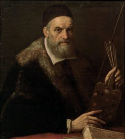 Self Portrait in Later Age | Jacopo Bassano | Oil Painting