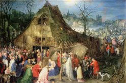 The Adoration of the Magi | Jan Brueghel the Elder | Oil Painting