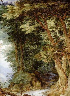 Forest Landscape | Jan Brueghel the Elder | Oil Painting