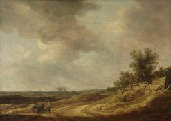 Landscape   Jan van Goyen   Oil Painting