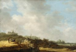 Dune Landscape | Jan van Goyen | Oil Painting